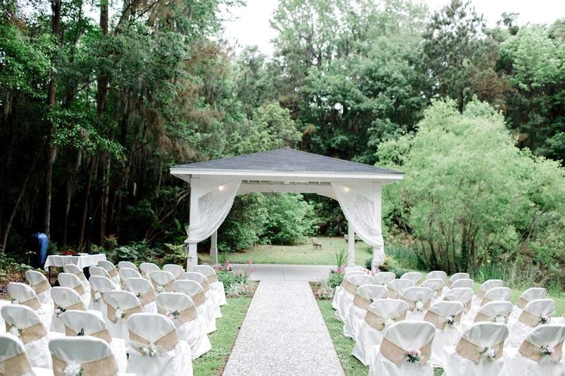 Savannah Botanical Gardens wedding venue