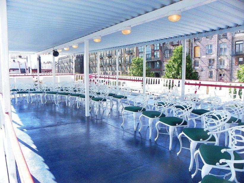 Savannah Riverboat Cruises wedding venue