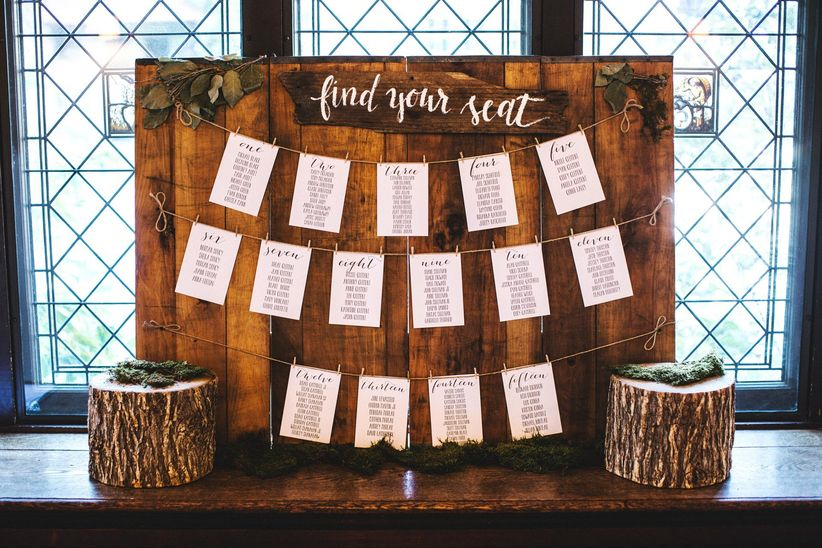 how to make a wedding seating chart weddingwire