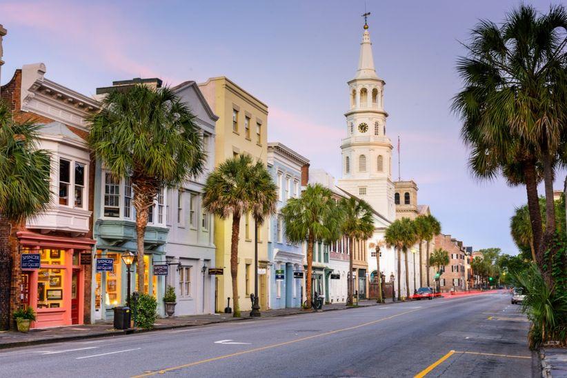 Charleston honeymoon ideas