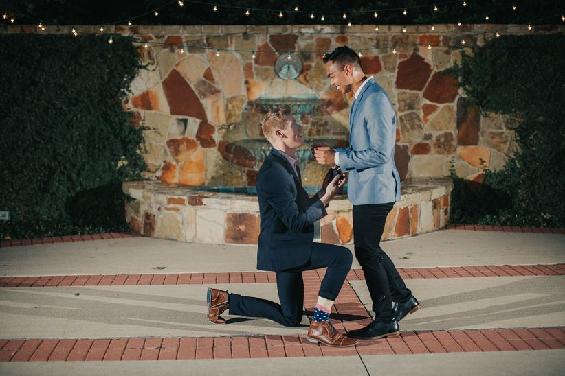 How To Propose To Your Boyfriend When Youre A Dude Weddingwire