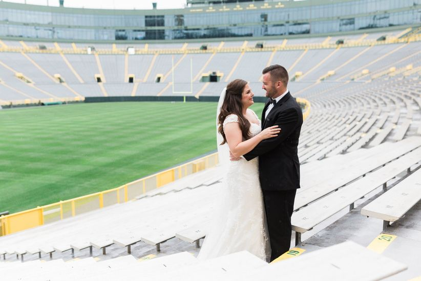 stadium wedding