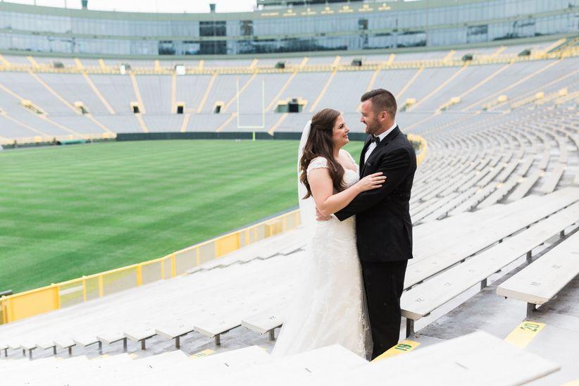 stadium wedding