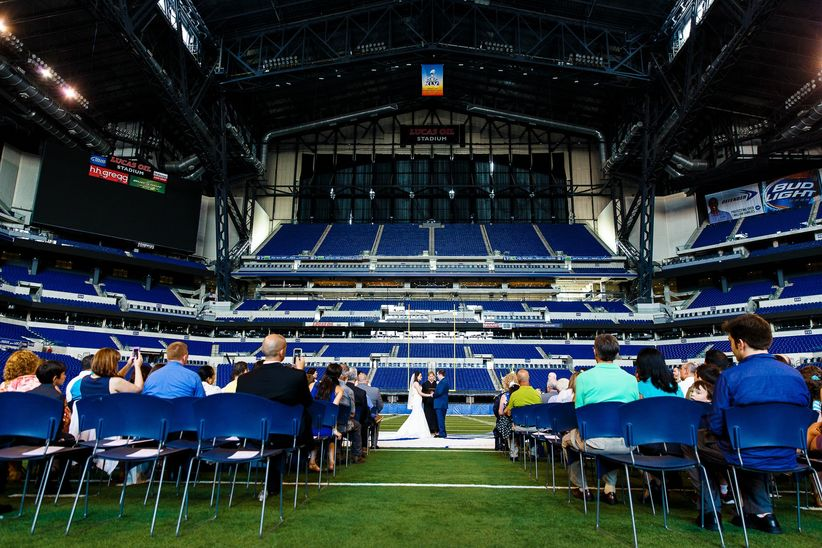 stadium wedding venue