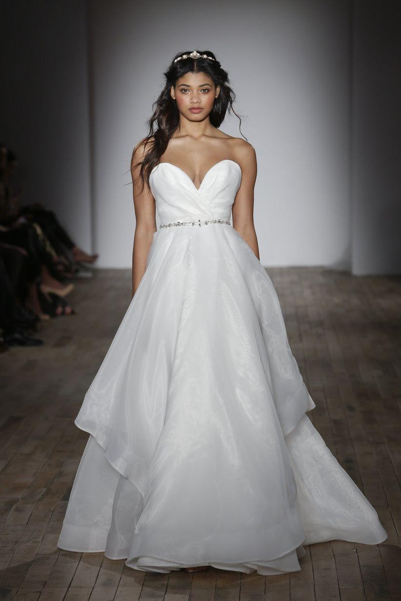 sweetheart wedding dress hayley paige