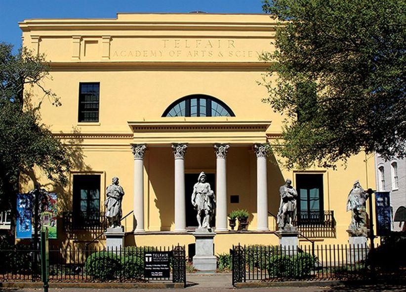 Telfair Academy Savannah wedding venue