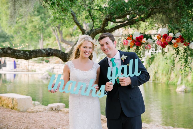 What To Write In A Wedding Thank You Card | How To Write Wedding Thank You Cards Weddingwire