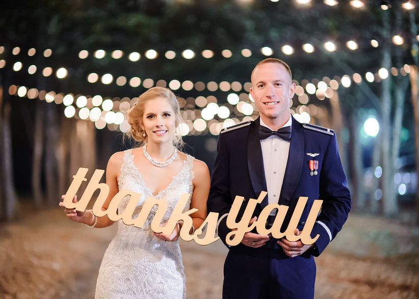 A Wedding Thank You Note Template For Every Type Of Gift Weddingwire