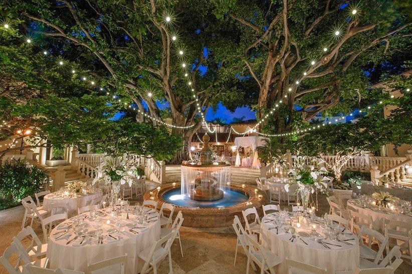 13 Gorgeous Outdoor Wedding Venues In Miami Weddingwire