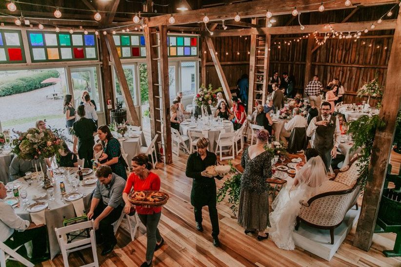 eclectic barn wedding venue in ohio