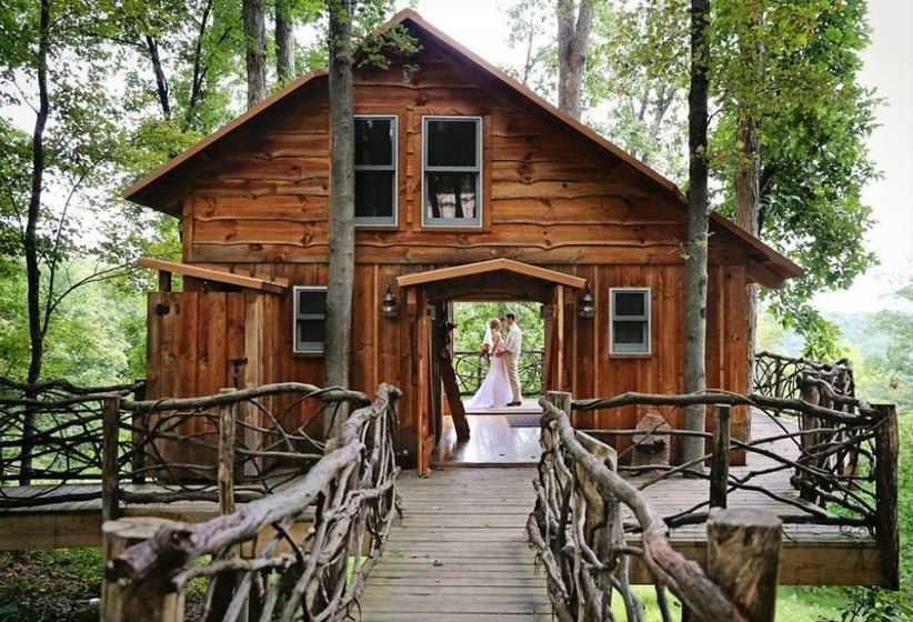 treehouse wedding venue in ohio