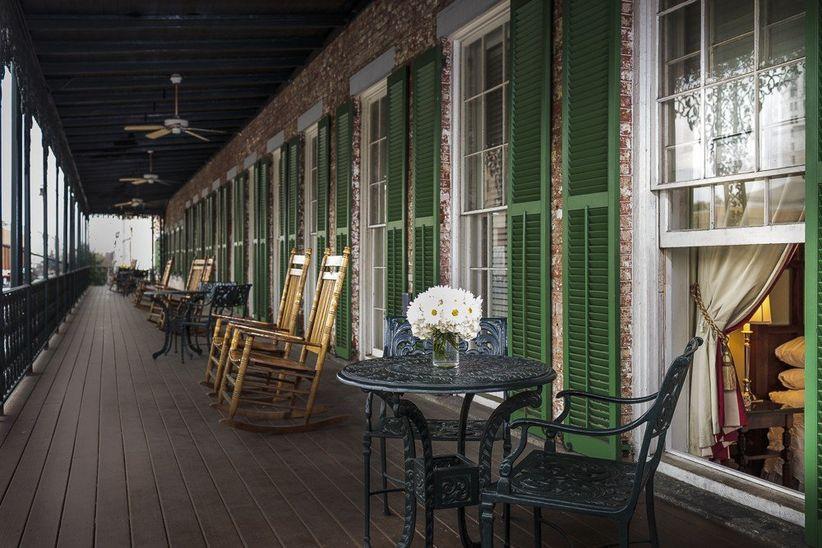 The Marshall House Savannah wedding