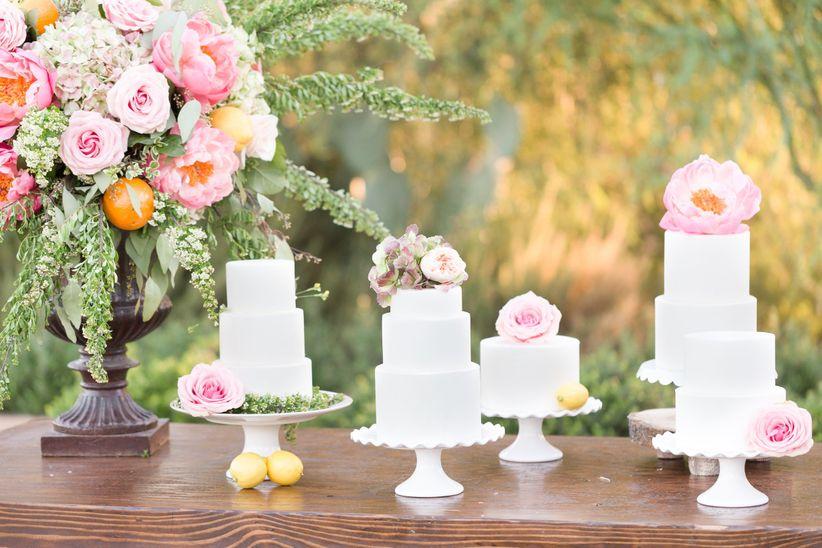 classic dessert display