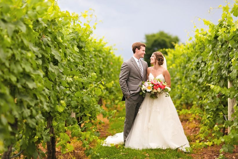 83a2da3fe3c Here are some reasons why we adore vineyard wedding venues.