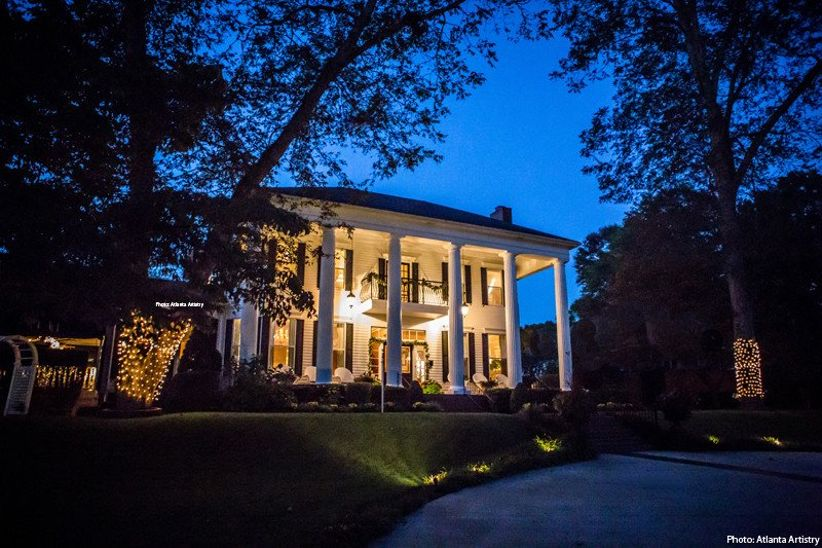 Victoria Belle Mansion and Vintage White Barn