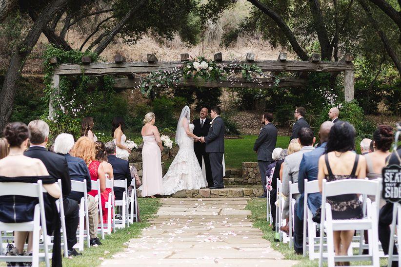 9 romantic garden wedding venues in san diego weddingwire wedding venues in san diego vista valley country club junglespirit Images