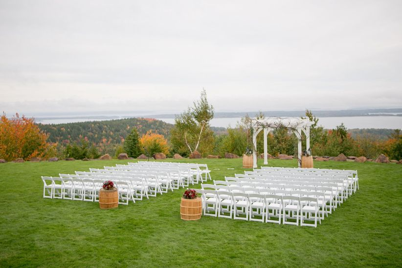 fall wedding venue in Maine