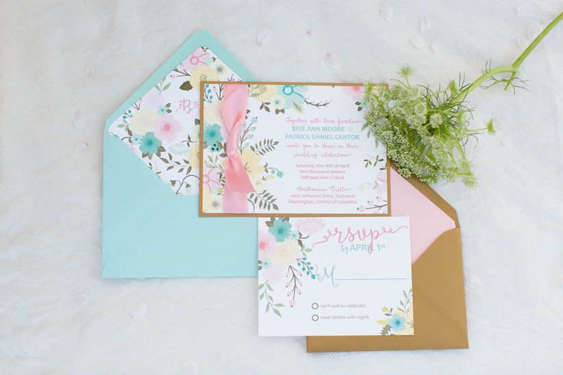 Cherry Blossom Themed Styled Shoot Weddingwire
