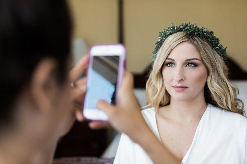 bride makeup phone