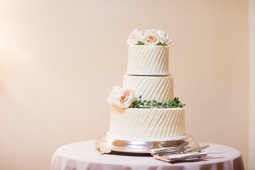 pastel de boda clásico