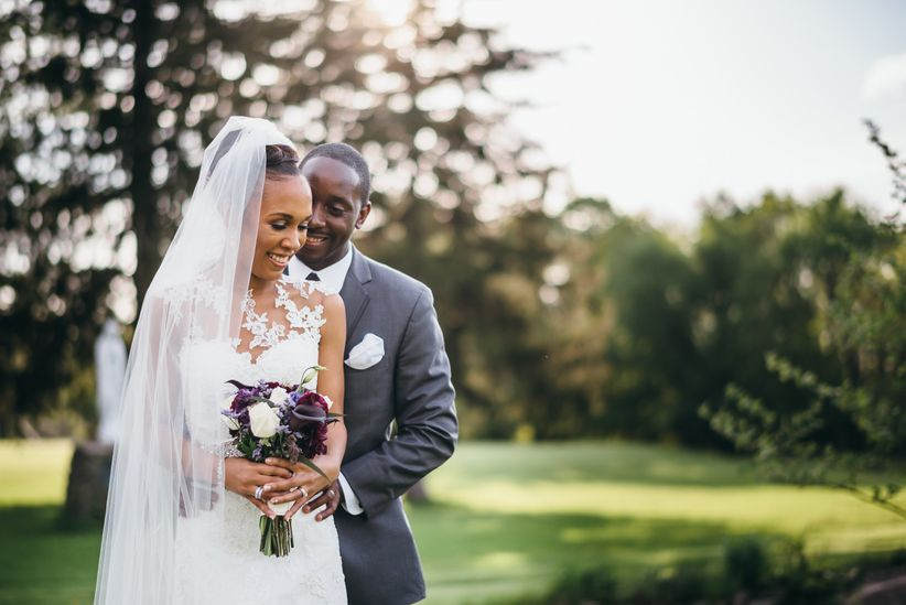 iesha thompson vincent and groom wedding