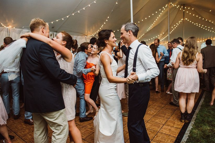 couple on dance floor aster & olive photography