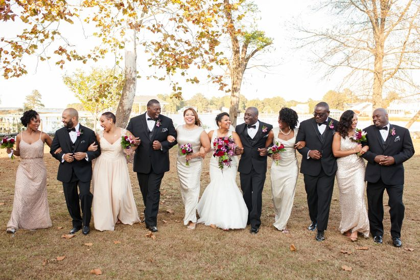 What should your wedding dress code actually be weddingwire junglespirit Images
