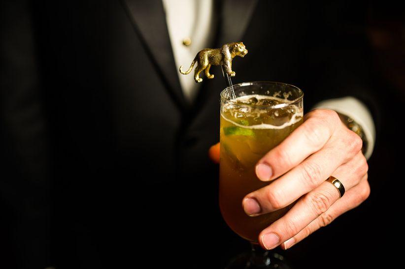 drink with bear stirrer