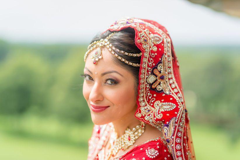 south asian bride origin photos