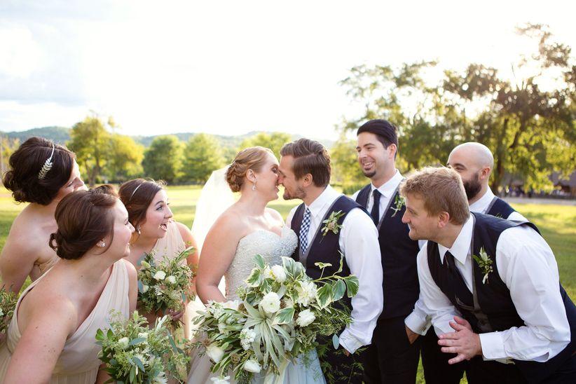 wedding party bridal party