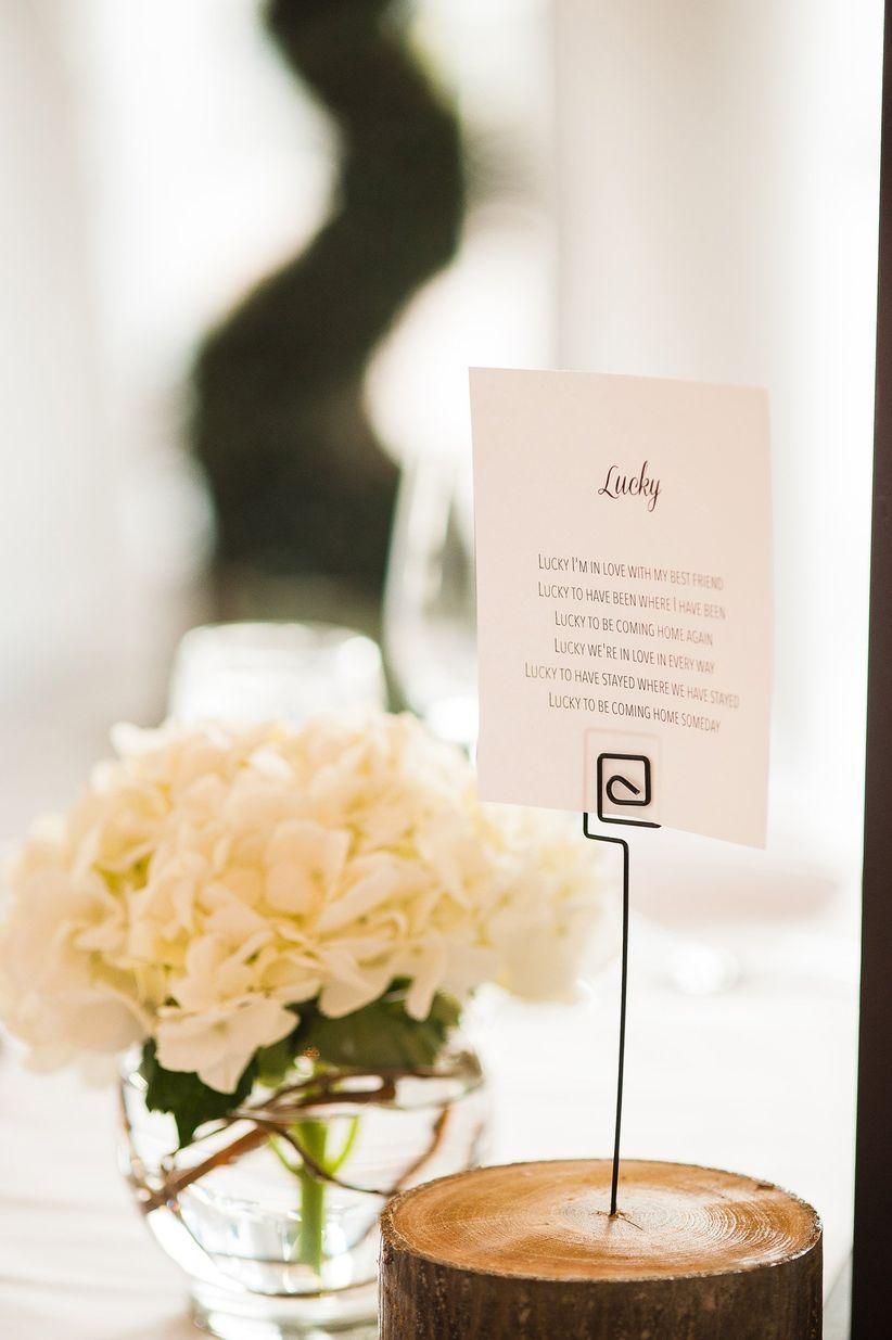 13 Creative Wedding Table Name Ideas for the Non-traditional Couple ...