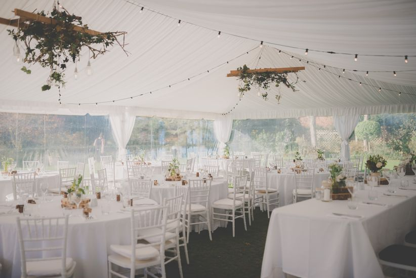 Rainingblossoms Wedding Receptions Tents Decoration: 9 Factors To Consider Before You Plan A Tented Wedding