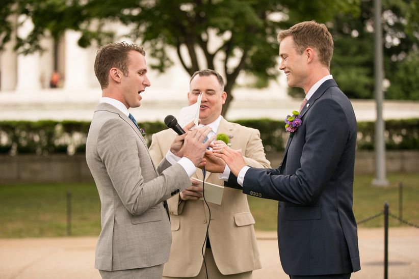 the wedding vows template you totally need admit it weddingwire