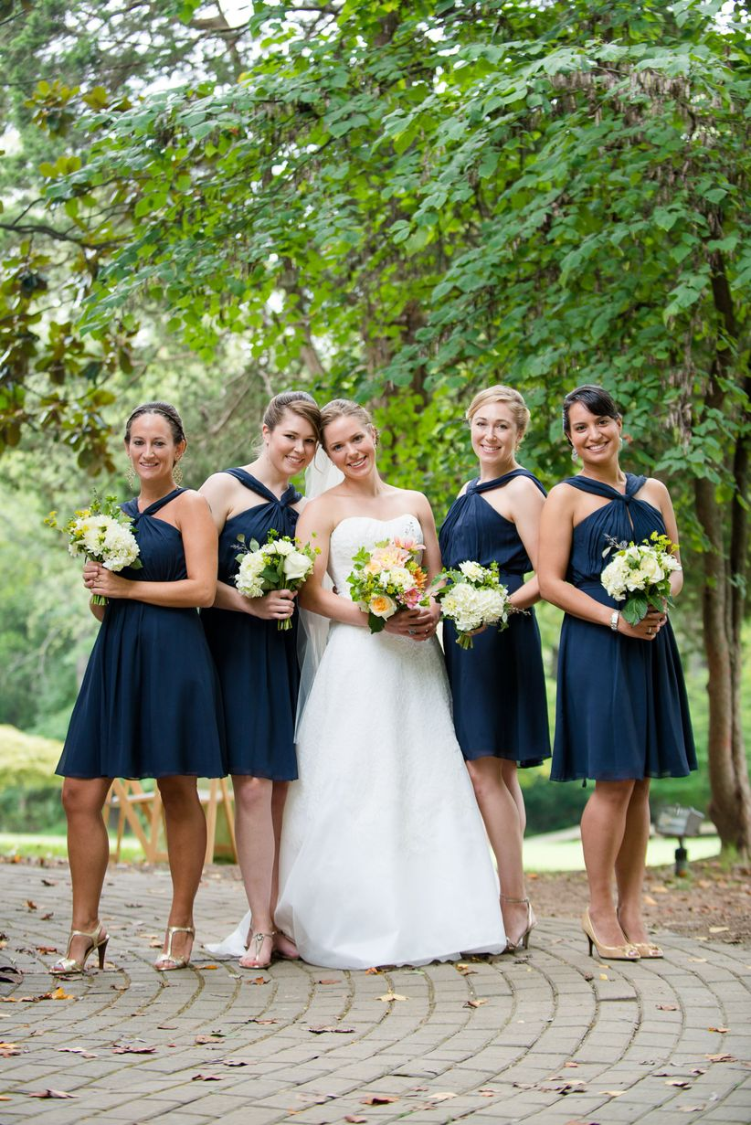 Bridal Party Navy Blue