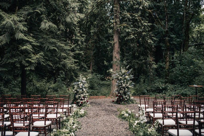 woodland ceremony