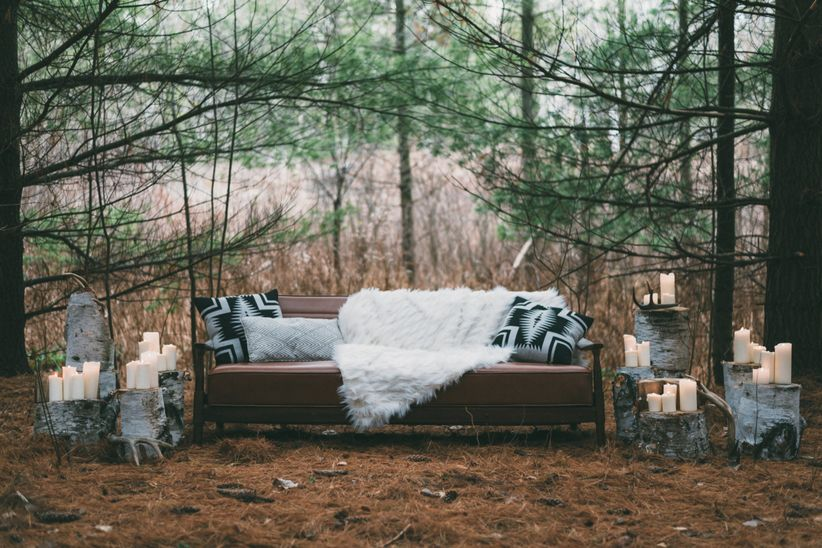 woodland themed lounge