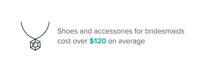bridesmaid accessories infographic
