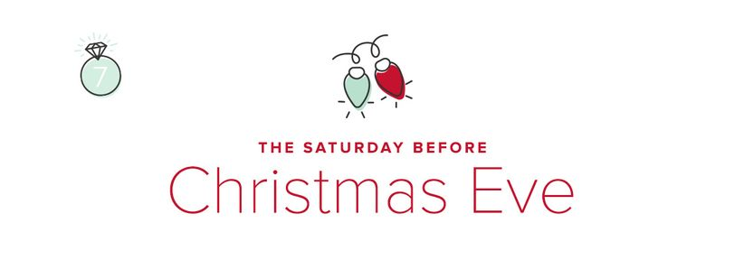 The Saturday Before Christmas Eve