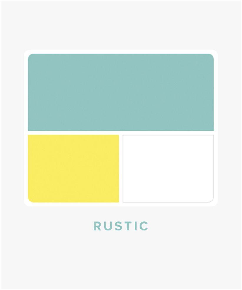 rustic wedding color palette