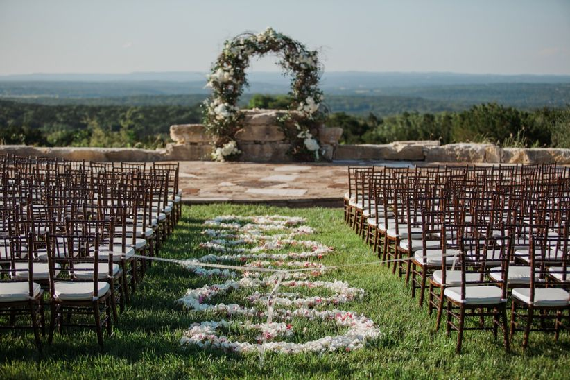 27 swoon worthy garden wedding ideas weddingwire garden wedding ceremony ideas junglespirit Image collections