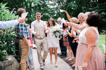 10 Creative Wedding Send-Off Ideas That Aren't Sparklers