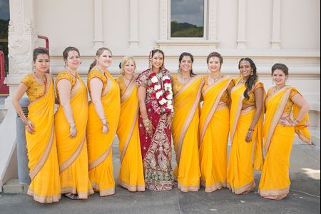Indian Bridesmaid Dresses to Inspire Your Bride Tribe