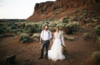 Desert Weddings Are Totally a Thing — Here's How to Nail It