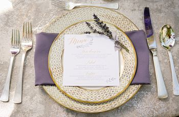 Lilac Texas Garden Styled Shoot