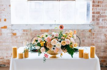 How to Style a Blush Wedding the Modern Way