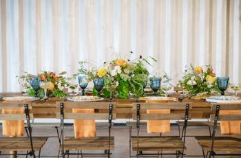 17 Blue Wedding Theme Ideas for the Bohemian Obsessed