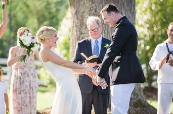 12 of Our Favorite Real Military Weddings
