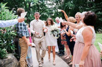 10 Creative Wedding Send-Off Ideas That Aren't Sparklers