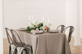 These Modern Rustic Wedding Ideas Are Farmhouse Style Goals