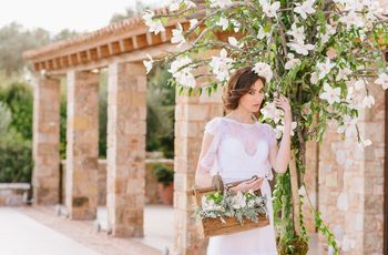 Ethereal Greek Winery Styled Shoot